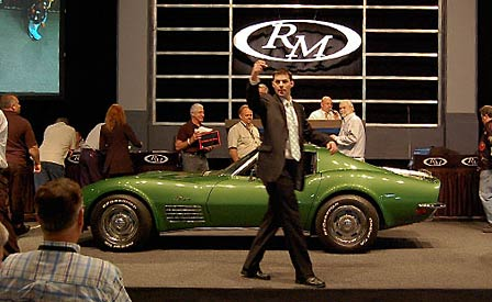 C3 Corvette Coupe at RM Auction