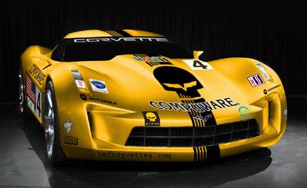 Badboy Vettes Inspired Corvette Stingray Concept Racer