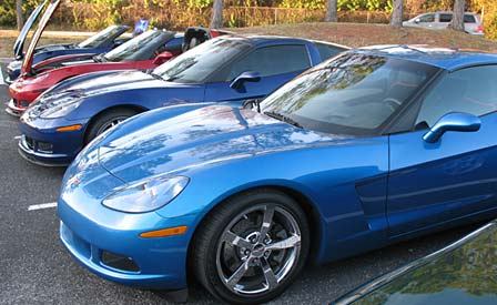 February 2009's Cars and Coffee at the duPont Registry