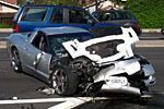 Long Beach Street Race Leads to Corvette Crash