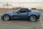 First Look: 2011 Corvette Convertible Blue Tops and Stitching