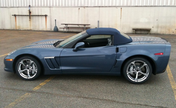 First Look: New Convertible Top Color and Interior Stitching