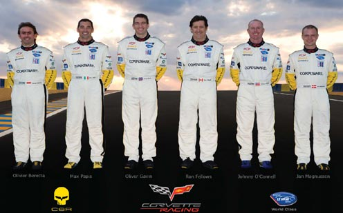 Corvette Racing's Driver Lineup for 2008