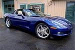 All Corvettes are Blue: 2005 LeMans Blue Metallic