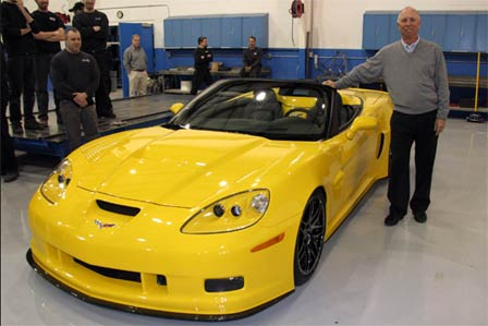 Jim Miller's Corvette C6RS