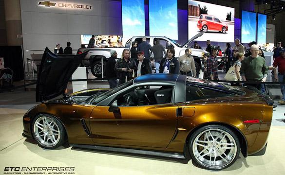 Canadian Tuner Unveils Impressive Gold Rush Corvette