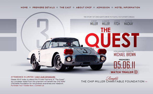 [VIDEO] 1960 #3 Le Mans Corvette Documentary The Quest to Premiere in May