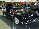 Corvettes on display at the 2011 Detroit Autorama