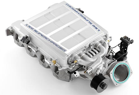 The Corvette ZR1's Eaton Supercharger