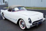 1954 Polo White Corvette