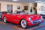 1954 Sportsman Red Corvette
