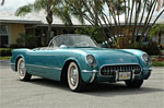 1954 Polo Blue Corvette