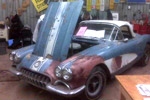 High Price Paid for '58 Corvette Barn Car