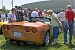 The 2007 Corvette unveiling at the NCM last year.