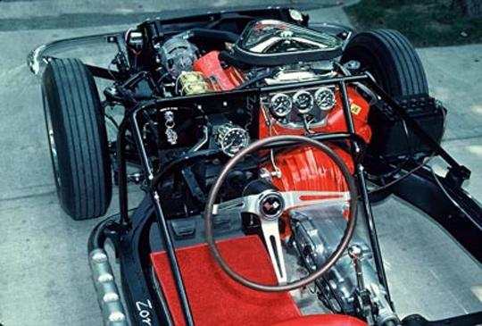 Corvette Oddball: Kevin Mackay\'s Drivable 1967 Corvette Chassis ...