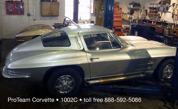 A.W. Joslin's 1963 Corvette Z06 Big Tank Racer