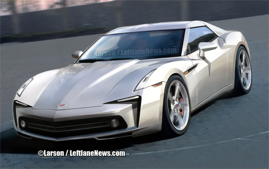 GM Seeks Global Designs for C7 Corvette