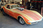 Lot F169 1969 Chevrolet Corvette Funny Car