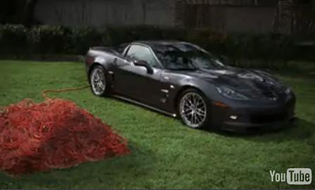 All-Electric 2009 Corvette ZR1