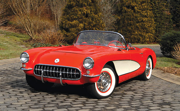 Lot #176 1957 Corvette Roadster at RM Auction