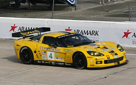 Corvette Racing's #4 C6.R at Sebring