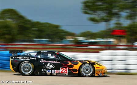 LG Motorsports #28 Riley C6 Corvette