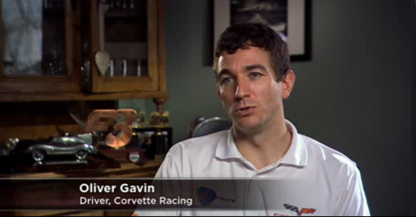 [VIDEO] Corvette Racing's Oliver Gavin Profiled on Mobil 1 The Grid