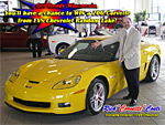 Rick Conti with a Velocity Yellow Z06 Corvette