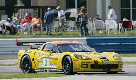 Corvette Racing's #3 C6.R at Sebring