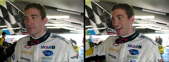 [VIDEO] Oliver Gavin talks with CorvetteBlogger.com at Sebring