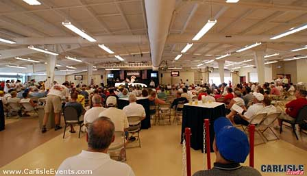 Corvette Auction Underway at 2007's Corvettes at Carlisle