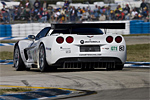 The 2007 Artic White C6.R Corvette