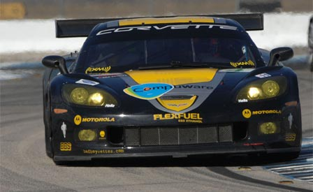 Gavin and the #4 Corvette C6.R Claim the Pole at Sebring