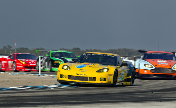 Corvette Racing Qualifies Second and Ninth for Sebring 12-Hour Race