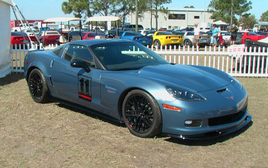 First Look: The 2011 Corvette Z06 Carbon Limited Edition