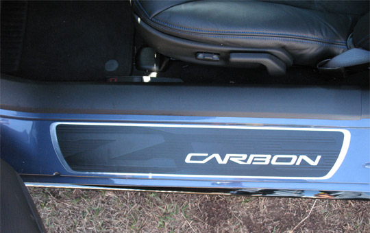 First Look: The 2011 Corvette Z06 Carbon Limited Edition Sill Plates