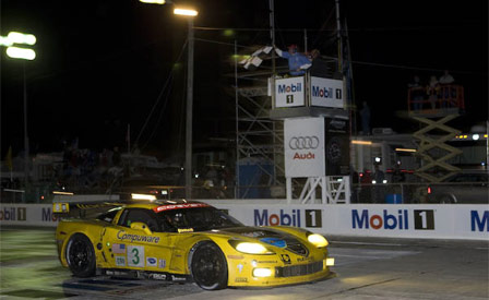 Corvette Racing: The #3 Corvette C6.R Makes History at Sebring