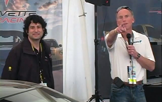 Corvette Presentation at Sebring Featuring Tadge Juechter and Harlan Charles