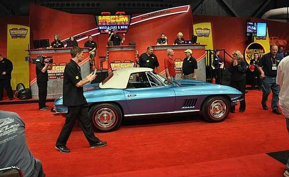 Mecum Sells $1.2 Million in Corvettes at Kansas City Auction