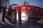 The 2007 Corvette Convertible in Monterey Red