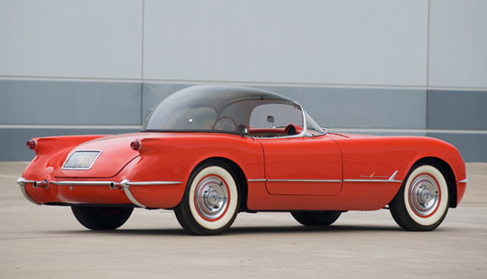 Rare 1955 Corvette Bubbletop Roadster to Be Auctioned By RM in Fort Lauderdale