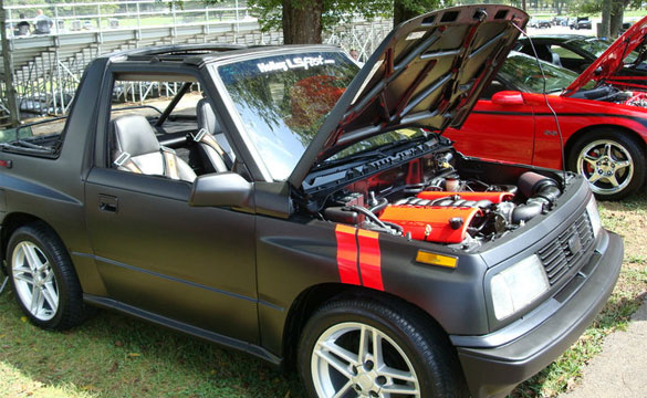 Unholy Engine Swap: The Geo Tracker Powered by Corvette