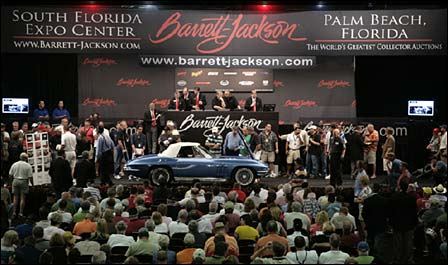 1965 Corvette on the block at Barrett-Jackson's Palm Beach Collector Car Auction