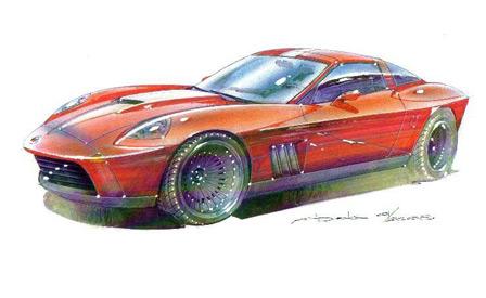 The Retro C6 Stinger Corvette
