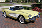 1958 Dual Quad Corvette Convertible