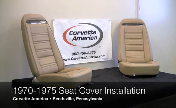 Corvette America Shows How To Recover Your 1970-75 Corvette Seats
