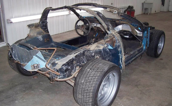 Follow along as a 1988 Corvette ZR-1 Prototype gets Restored