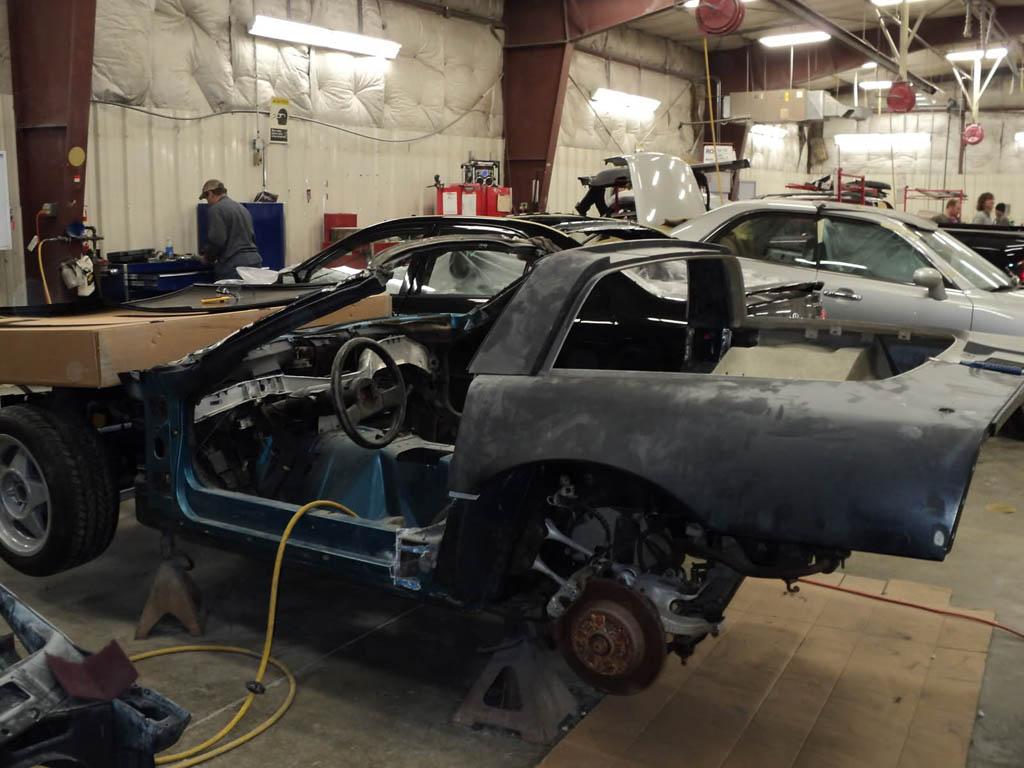 Follow The Restoration Of A 1988 Corvette Zr 1 Prototype Corvette Sales News Lifestyle