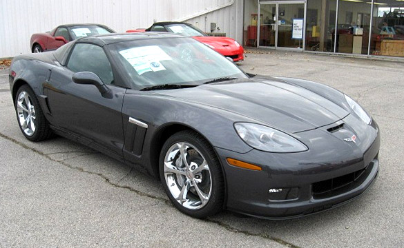 No More Cyber Gray or Crystal Red for 2011 Corvettes