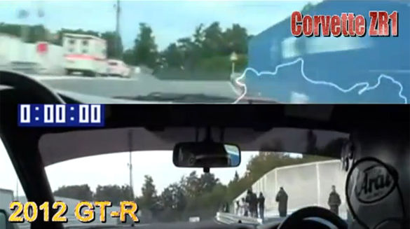 [VIDEO] '12 Nissan GT-R vs '09 Corvette ZR1 at Nurburgring